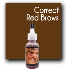 Custom Cosmetic Color - Correct Red Brows